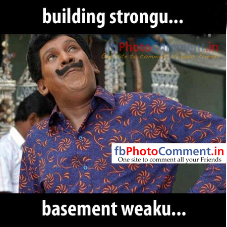building strong but basement weaku