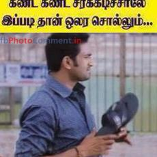 santhanam funny reaction