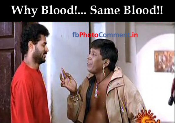why blood same blood | Vadivelu | Tamil | Tamil Photo